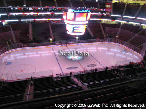 Seat view from section 110 at the Prudential Center, home of the New Jersey Devils