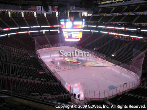 Seat view from section 117 at the Prudential Center, home of the New Jersey Devils