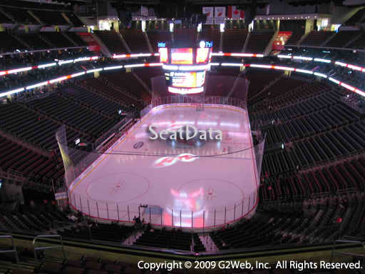 Seat view from section 121 at the Prudential Center, home of the New Jersey Devils