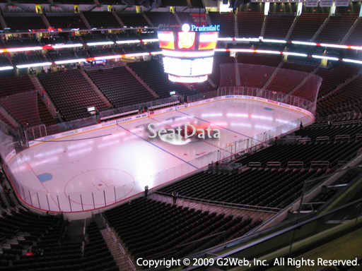 Seat view from section 125 at the Prudential Center, home of the New Jersey Devils