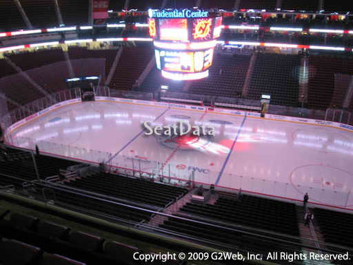 Seat view from section 130 at the Prudential Center, home of the New Jersey Devils