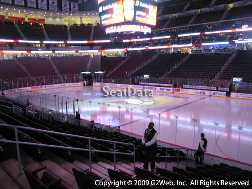 Seat view from section 21 at the Prudential Center, home of the New Jersey Devils