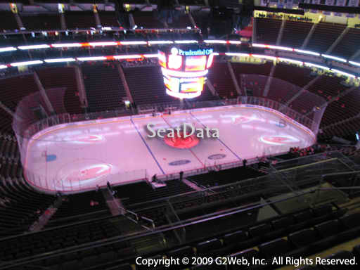 Seat view from section 210 at the Prudential Center, home of the New Jersey Devils