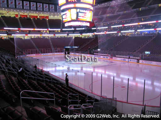 Seat view from section 22 at the Prudential Center, home of the New Jersey Devils