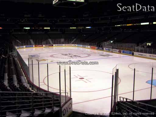 Seat view from section 203 at the Honda Center, home of the Anaheim Ducks