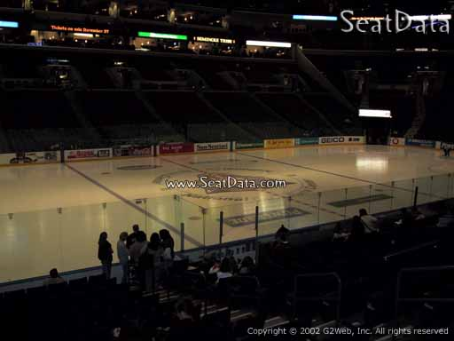 Seat view from section 103 at the BB&T Center, home of the Florida Panthers