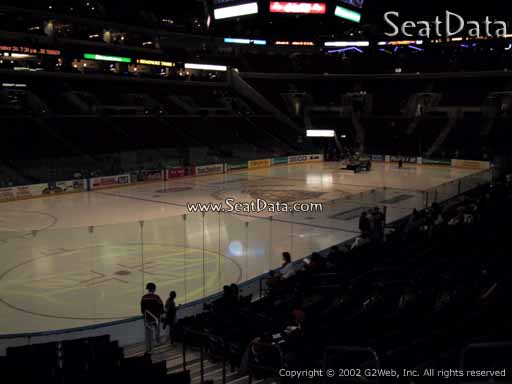 Seat view from section 105 at the BB&T Center, home of the Florida Panthers