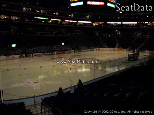 Seat view from section 122 at the BB&T Center, home of the Florida Panthers
