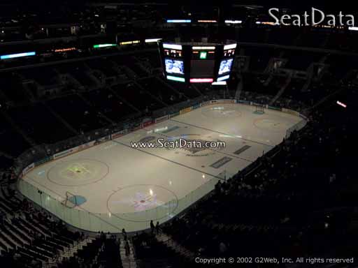 Seat view from section 406 at the BB&T Center, home of the Florida Panthers