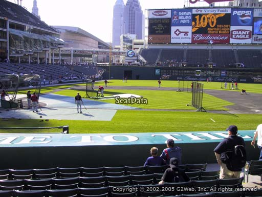 Seat view from section 146 at Progressive Field, home of the Cleveland Indians