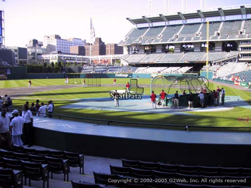 Seat view from section 157 at Progressive Field, home of the Cleveland Indians