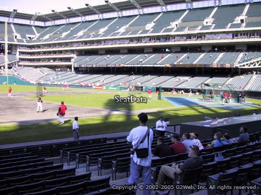 Seat view from section 167 at Progressive Field, home of the Cleveland Indians