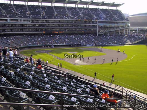 Seat view from section 326 at Progressive Field, home of the Cleveland Indians