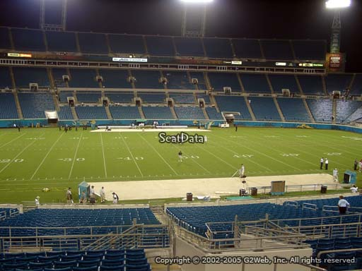 Seat view from section 112 at Everbank Field, home of the Jacksonville Jaguars