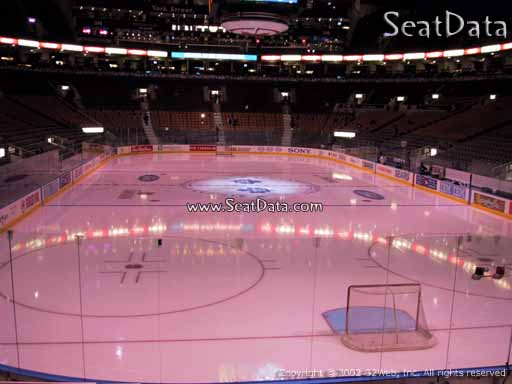 Seat view from section 103 at Scotiabank Arena, home of the Toronto Maple Leafs