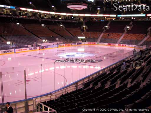 Seat view from section 111 at Scotiabank Arena, home of the Toronto Maple Leafs
