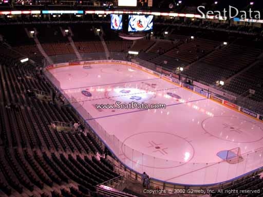 Seat view from section 305 at Scotiabank Arena, home of the Toronto Maple Leafs