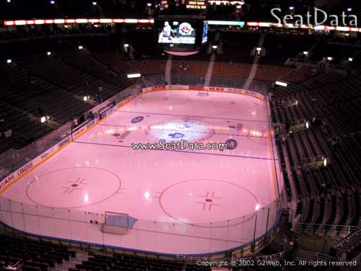 Seat view from section 314 at Scotiabank Arena, home of the Toronto Maple Leafs