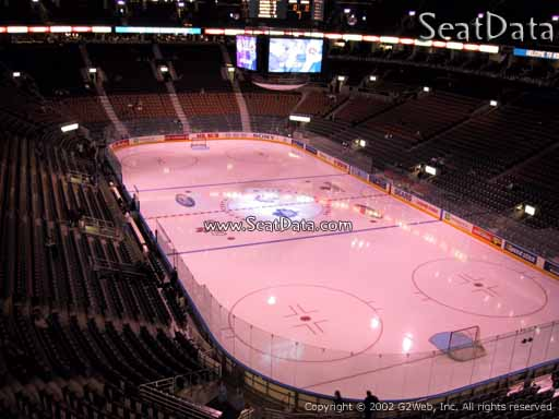 Seat view from section 316 at Scotiabank Arena, home of the Toronto Maple Leafs