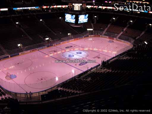 Seat view from section 324 at Scotiabank Arena, home of the Toronto Maple Leafs