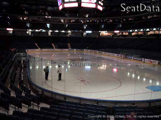 Seat view from section 126 at Amalie Arena, home of the Tampa Bay Lightning