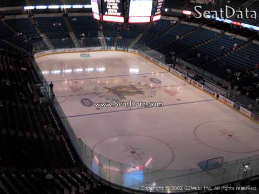 Seat view from section 210 at Amalie Arena, home of the Tampa Bay Lightning
