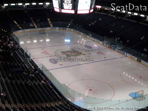 Seat view from section 226 at Amalie Arena, home of the Tampa Bay Lightning