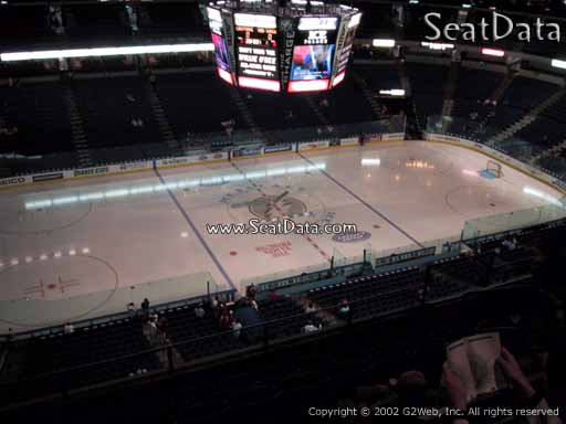 Seat view from section 303 at Amalie Arena, home of the Tampa Bay Lightning
