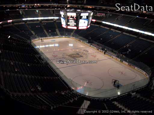 Seat view from section 311 at Amalie Arena, home of the Tampa Bay Lightning