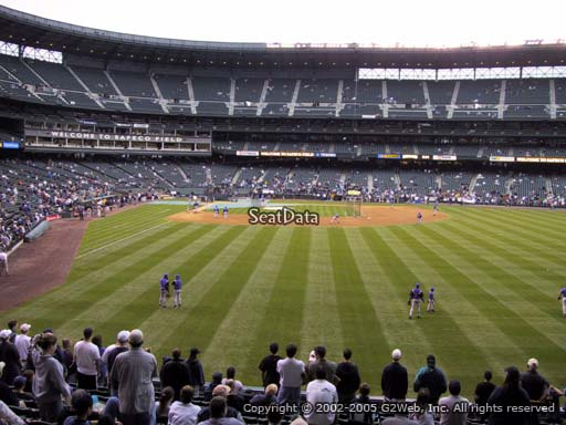 Seat view from section 108 at T-Mobile Park, home of the Seattle Mariners