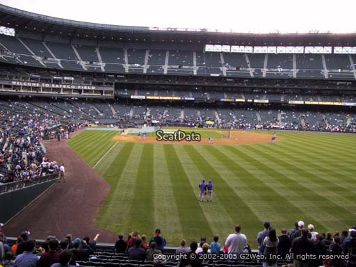 Seat view from section 109 at T-Mobile Park, home of the Seattle Mariners