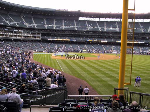 Seat view from section 110 at T-Mobile Park, home of the Seattle Mariners