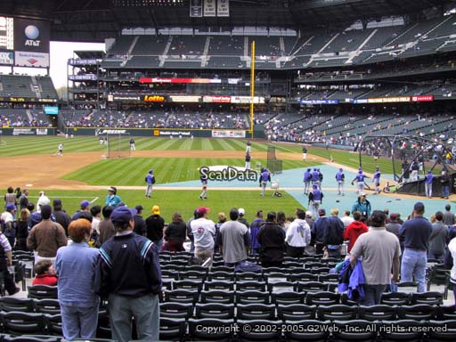 Seat view from section 137 at T-Mobile Park, home of the Seattle Mariners