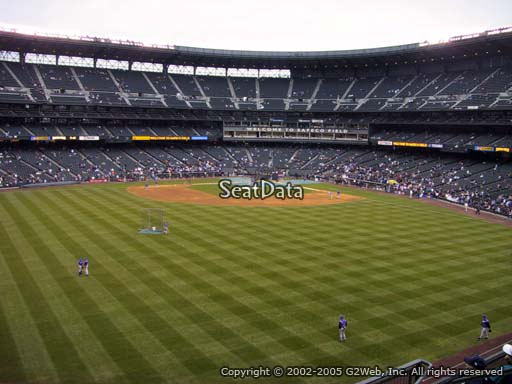 Seat view from section 187 at T-Mobile Park, home of the Seattle Mariners