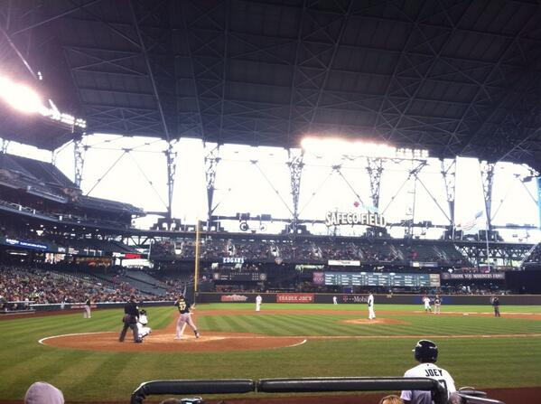 View from Diamond Club Section 25 at Safeco Field