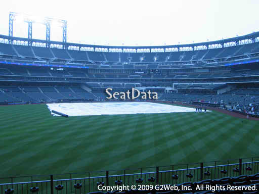 Seat view from section 137 at Citi Field, home of the New York Mets