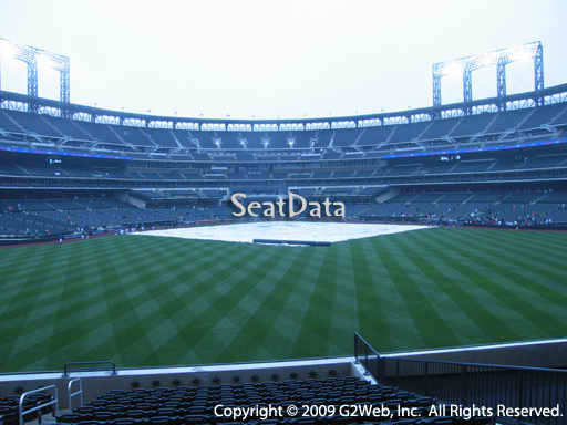 Seat view from section 140 at Citi Field, home of the New York Mets