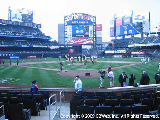 Seat view from section 15 at Citi Field, home of the New York Mets