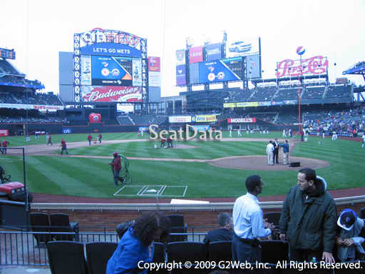 Seat view from section 18 at Citi Field, home of the New York Mets