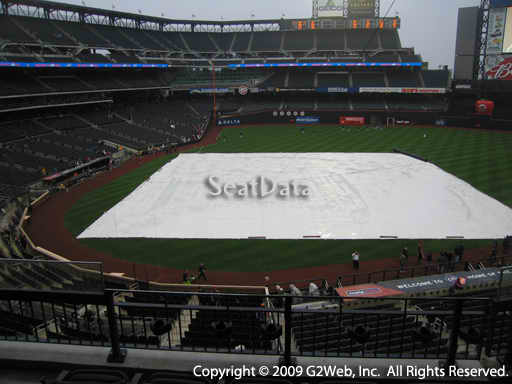 Seat view from section 313 at Citi Field, home of the New York Mets