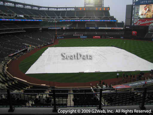 Seat view from section 314 at Citi Field, home of the New York Mets
