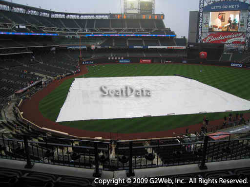 Seat view from section 315 at Citi Field, home of the New York Mets