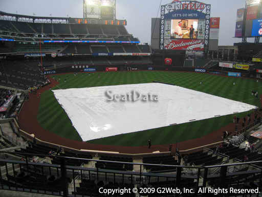 Seat view from section 317 at Citi Field, home of the New York Mets