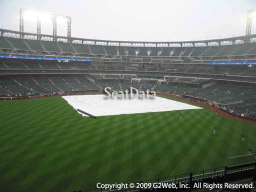 Seat view from section 338 at Citi Field, home of the New York Mets
