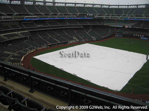 Seat view from section 405 at Citi Field, home of the New York Mets