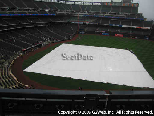 Seat view from section 408 at Citi Field, home of the New York Mets