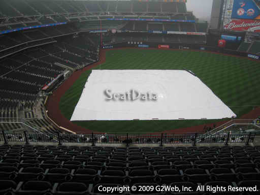 Seat view from section 509 at Citi Field, home of the New York Mets