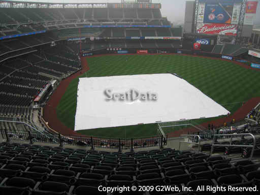 Seat view from section 510 at Citi Field, home of the New York Mets