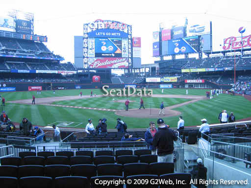 Seat view from section 7 at Citi Field, home of the New York Mets