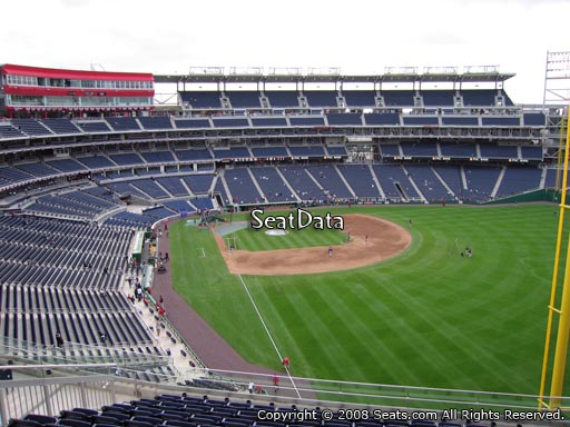 Seat view from section 232 at Nationals Park, home of the Washington Nationals